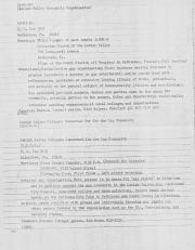 Allentown/Reading Area Gay Organizations List - circa 1978