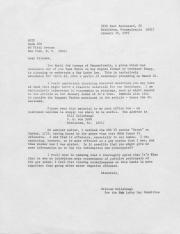 Letter to the National Gay Task Force (NGTF) from the Gay Lobby Day Committee - January 28, 1976