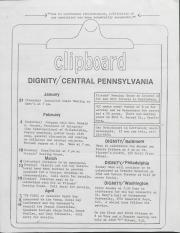 Dignity/Central PA Clipboard - 1978