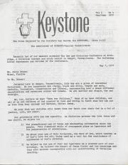 Keystone (Dignity/Central PA) - May/June 1977
