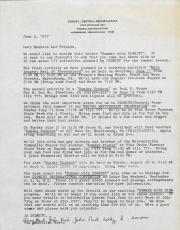 Dignity/Central PA, Letters to Members - June 3, 1977