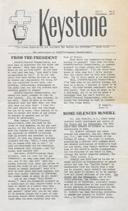 Keystone (Dignity/Central PA) - September 1977