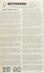 Keystone (Dignity/Central PA) - October 1979