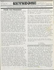 Keystone (Dignity/Central PA) - January 1980