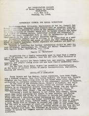 Gay Coordinating Society of Berks County, Reading (GCS Berks) Newsletter - December [1975]