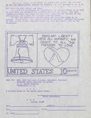 GCS Berks Gay Liberation Stamp Design - 1976
