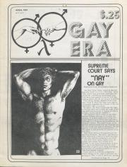 Gay Era (Lancaster, PA) - April 1976