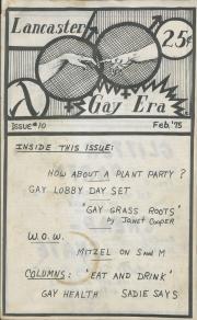 Gay Era (Lancaster, PA) - February 1975
