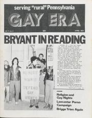 Gay Era (Lancaster, PA) - April 1978