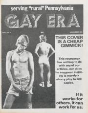 Gay Era (Lancaster, PA) - November 1978