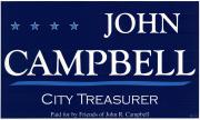 John Campbell Campaign Poster