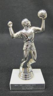 Harrisburg Hustlers Volleyball Charm City Invitational Baltimore Trophy, 1987