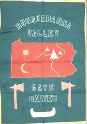 Susquehanna Valley Gays United Banner