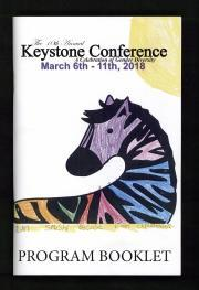 Keystone Conference Program, 2018