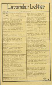Lavender Letter (Harrisburg, PA) - May 1987