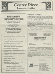 Lavender Letter (Harrisburg, PA) - October 1996