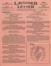 Lavender Letter (Harrisburg, PA) - October 2004