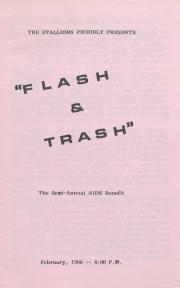 """Flash and Trash"" Program - February 1988"