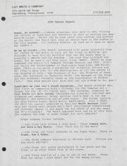 Lily White & Company Annual Report - 1992
