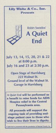 """A Quiet End"" Brochure - July 1995"