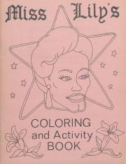 Miss. Lily's Coloring and Activity Book - undated