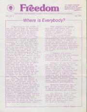 MCC Freedom Newsletter - July 1982