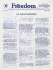 MCC Freedom Newsletter - August 1982