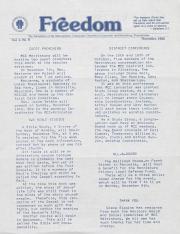 MCC Freedom Newsletter - November 1982