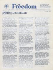 MCC Freedom Newsletter - January 1983
