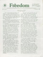 MCC Freedom Newsletter - December 1982