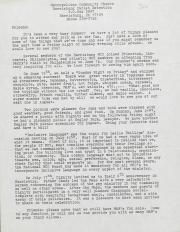 MCC Harrisburg Newsletter - June/July 1981