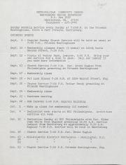 MCC Harrisburg Newsletter - August 1981