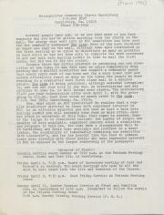 MCC Harrisburg Newsletter - March 1982