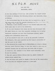 Northeast Pennsylvania Gay Alliance (NEPGA) Newsletter - June 1976