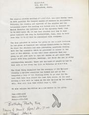 Northeast Pennsylvania Gay Alliance (NEPGA) Newsletter - March 1979