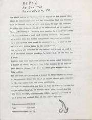 Northeast Pennsylvania Gay Alliance (NEPGA) Newsletter - May 1979