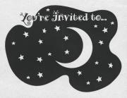 ''Night of 1000 Parties'' Fundraiser Invitation - March 6, 1993