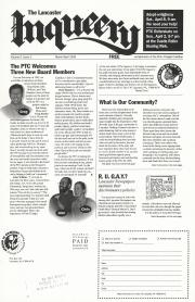 The Lancaster Inqueery (Lancaster, PA) - March/April 1995