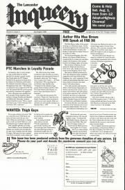The Lancaster Inqueery (Lancaster, PA) - July/August 1998