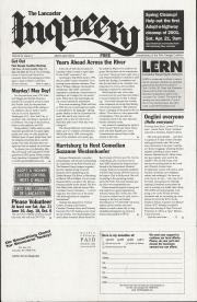 The Lancaster Inqueery (Lancaster, PA) - March/April 2001