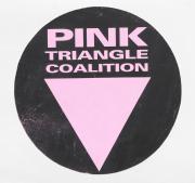 Pink Triangle Coalition Logo - circa 1991