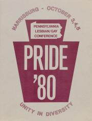 Pride '80 Program - October 3 - 5, 1980