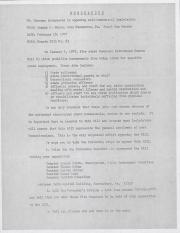 PA Rural Gay Caucus Memo - February 18, 1977