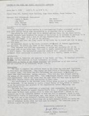 PA Rural Gay Caucus Legislative Committee Minutes - May 8, 1976