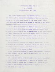 PA Rural Gay Caucus Meeting Minutes - October 1976