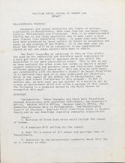 PA Rural Gay Caucus Position Paper Draft - 1976