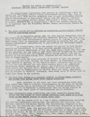 PA Rural Gay Caucus Reasons for Repeal of Sodomy Statute - 1976