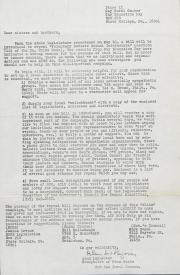 PA Rural Gay Caucus Letter - May 10, 1976