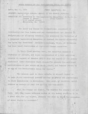 PA Rural Gay Caucus, Press Release - May 13, 1976
