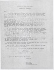 PA Rural Gay Caucus Legislative Committee Letter - August 11, 1976